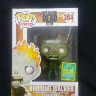 The Walking Dead: Burning Walker Funko Pop!