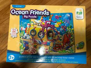 Brand New Ocean Friends Big Puzzle