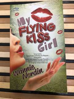 Novel Melayu : My Flying Kiss Girl