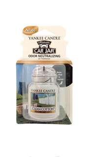 Yankee Candle Clean Cotton, Car Jar® Ultimate