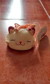 和風貓擺設Japanese style 黃 笑夢琉