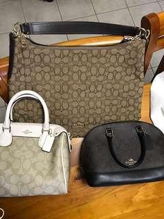 Coach Bags $250 each