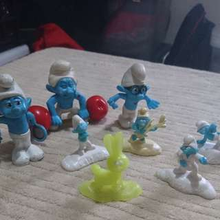 Smurfs Action Figures Take All