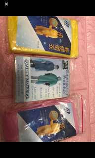 Instock adult disposable poncho brand new .. Min order 5pcs and above