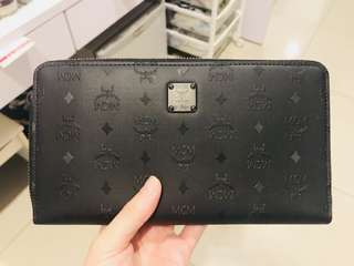 MCM Zip Around Wallet