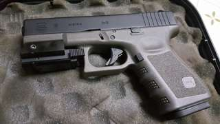 VFC HK Glock 19 GBB Olive drab 軍綠色 Full marking ( Made in Taiwan )