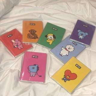 NOTE BOOK BT21 (ORI FROM MONOPOLY OFFICIAL)