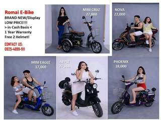E-bike With New Price