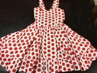Polkadot kids Dress