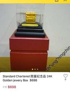24K寶箱擺設
