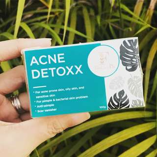 ACNE DETOXX - Tea Tree & Guava Leaves Anti-acne Soap