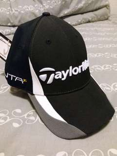 Taylormade cap 100% new and real 未拆牌 未拆內部卡紙