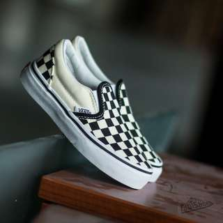 Vans Slip On (Checkerboard)