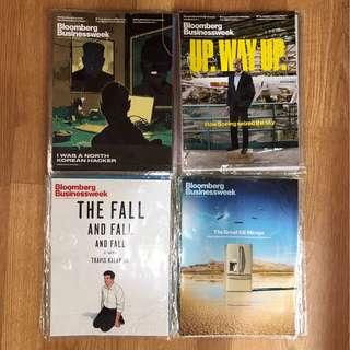 Bloomberg Businessweek magazines