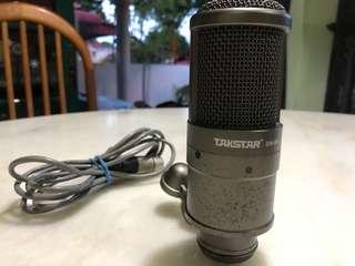 Takstar SM-8B Microphone & M-Audio Fast Track
