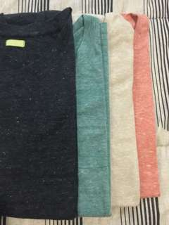 4 Colored Tops