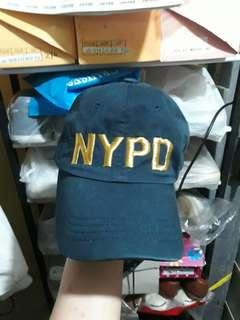 N.Y.P.D dad hat leather strap