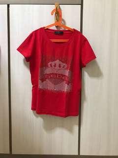 Bebe Red Top