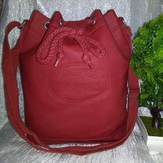 Authentic Lacoste Vintage Bucket Bag