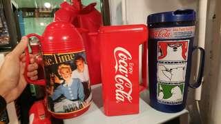 Coca cola 水壺 3 個