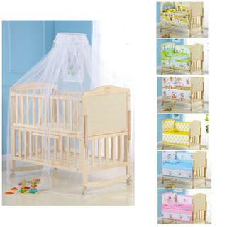 Adjustable baby cot medium size 104cm