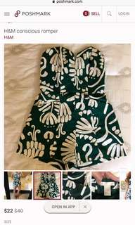 LOOKING FOR THIS! H&m romper