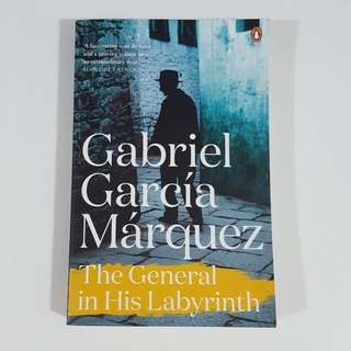 The General in His Labyrinth by Gabriel García Márquez