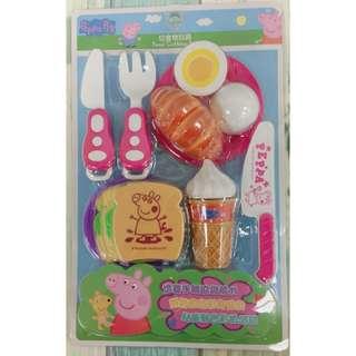 佩佩豬吐司&水果切切樂