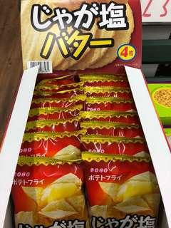 日本馬鈴薯洋芋片