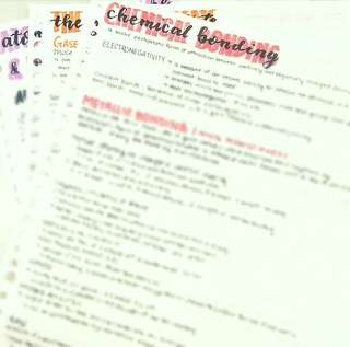 H2 Chemistry Handwritten Notes
