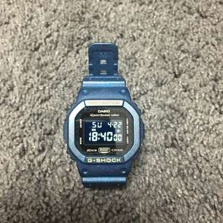 CASIO G-SHOCK DW-5600 特別版 二手 九成新