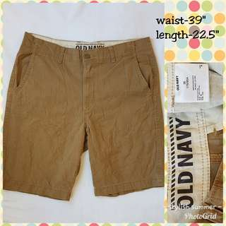 OLD NAVY PLUS SIZE SHORTS FOR MEN