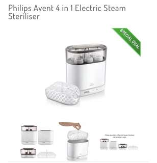 Avent 4 in 1 Electric Sterilizer