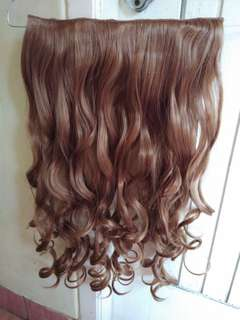 Rambut Hair Clip Blonde / Pirang Ombre