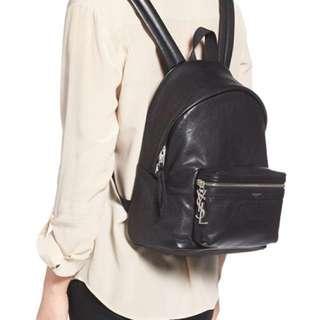YSL genuine leather backpack