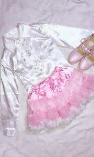 Lolita tutu and polo SET
