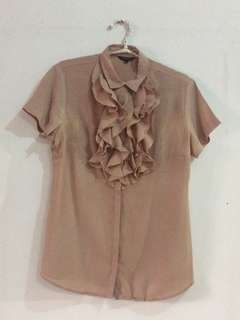 Authentic The Executive Nude Top