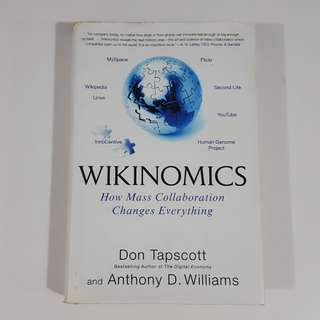 Wikinomics by Tapscott & Williams [Hardcover]