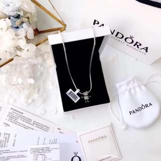 Bella Bot Pendant Necklace