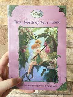 TINK, NORTH OF NEVERLAND - BUKU CERITA ANAK ANAK