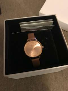 OLIVIA BURTON MIDI DIAL ROSE AND ROSE GOLD WATCH