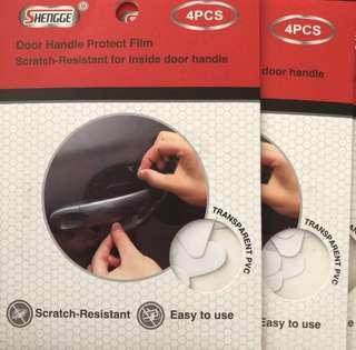 Car door handle protect film