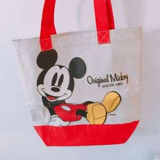 全新迪士尼米奇米老鼠Mickey 帆布袋