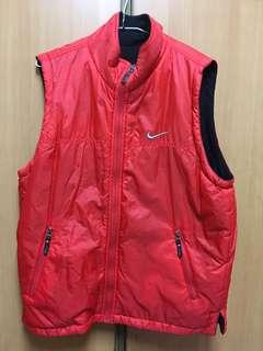 古著Nike兩面背心外套