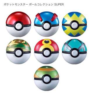Bandai Pokemon Monster Ball Pokeball Collection Super (Pre-Order)