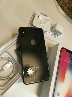 I phone X 256 GB Space grey