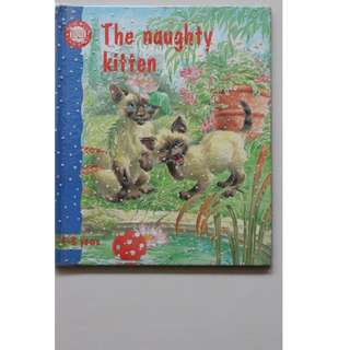 Children's Book : The Naughty Kitten