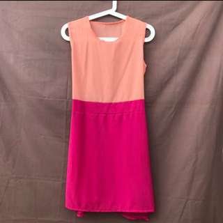 Two Tone Color Dress