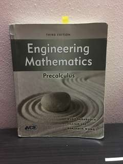 Engineering Mathematics 1 Textbook
