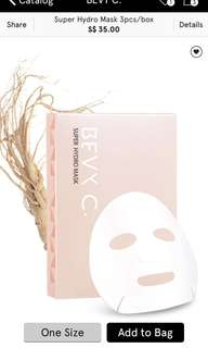 Bevy C Mask (more than 50% off!)